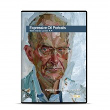 Townhouse : DVD : Expressive Oil Portraits : Andrew James VP of the Royal Society of Portrait Painters
