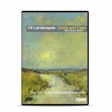 Townhouse : DVD : Oil Landscapes Quick and Easy : Brian Ryder
