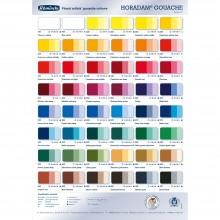 Schmincke : Horadam Gouache : Colour Chart