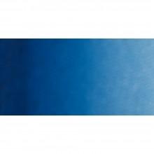 Old Holland : Watercolour Paint : Half Pan : Parisian (Prussian) Blue Extra