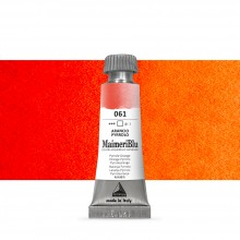 MaimeriBlu : Watercolour Paint : Half Pan : Pyrrole Orange