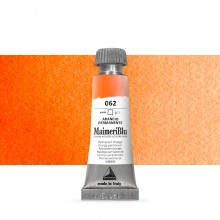 MaimeriBlu : Watercolour Paint : Half Pan : Permanent Orange
