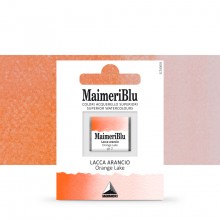 MaimeriBlu : Watercolour Paint : Half Pan : Orange Lake