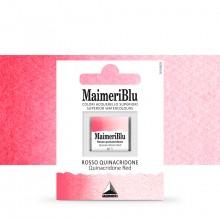 MaimeriBlu : Watercolour Paint : Half Pan : Quinacridone Red