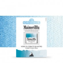 MaimeriBlu : Watercolour Paint : Half Pan : Cobalt Green Blue