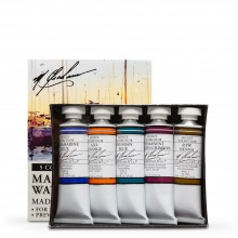 M. Graham : Artists' Watercolour Paint : 15ml : Marinescape Set of 5