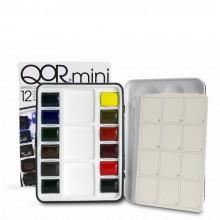Golden QoR : Watercolour Paint : Half Pan : Mini Set of 12