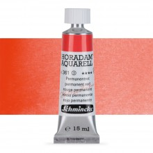 Schmincke : Horadam Watercolour Paint : 15ml : Permanent Red