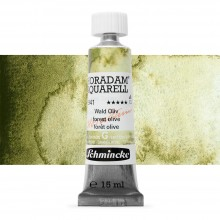 Schmincke : Horadam Watercolour Paint : 15ml : Forest Olive