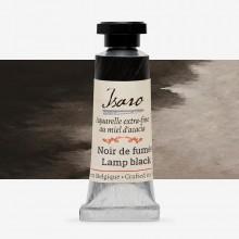 Isaro : Watercolour Paint : 7ml : Lamp Black