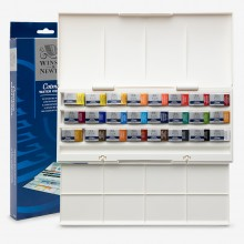 Winsor & Newton : Cotman : The Studio Set 24 Full Pans