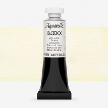 Blockx : Watercolour Paint : 15ml : Zinc White