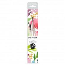 Da Vinci : Frau Holle : Watercolour Brush : Loose Watercolour Florals Set of 3