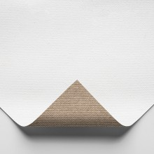 Belle Arti : 576 Medium Fine Poly/Cotton : 398gsm : Universal Primed : 210cm Wide : 10m Roll