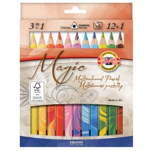 Koh-I-Noor : Sets of Jumbo Triangular Coloured Pencils (FSC 100%)