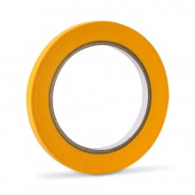 Handover : Yellow Low Tack Lining Tape : 3/8in : 9mm x 40m