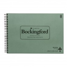 Bockingford : Spiral Fat Pad : A3 : 25 Sheets : Rough