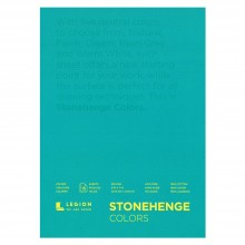 Stonehenge : Multi Colour Drawing Pad : 15 Sheets : 5x7in (13x18cm)
