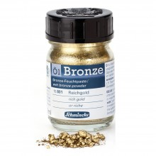 Schmincke : Oil Bronze Powders : 50ml : By Road Parcel Only