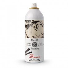 Sennelier : Delacroix Aerosol Charcoal & Pencil Fixative : 400ml