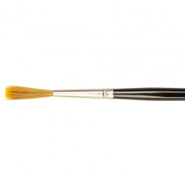 Handover : Sable Mix Chisel Edged Ticket Writing Brush : # 9