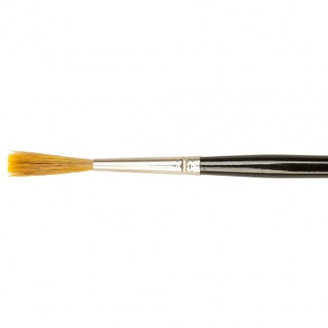 Handover : Sable Mix Chisel Edged Ticket Writing Brush : # 12
