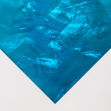 Mother of Pearl : Blue Tinted : 24 x 14cmm