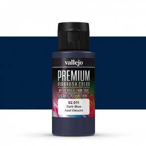 Vallejo : Premium Airbrush Paint : 60ml : Dark Blue