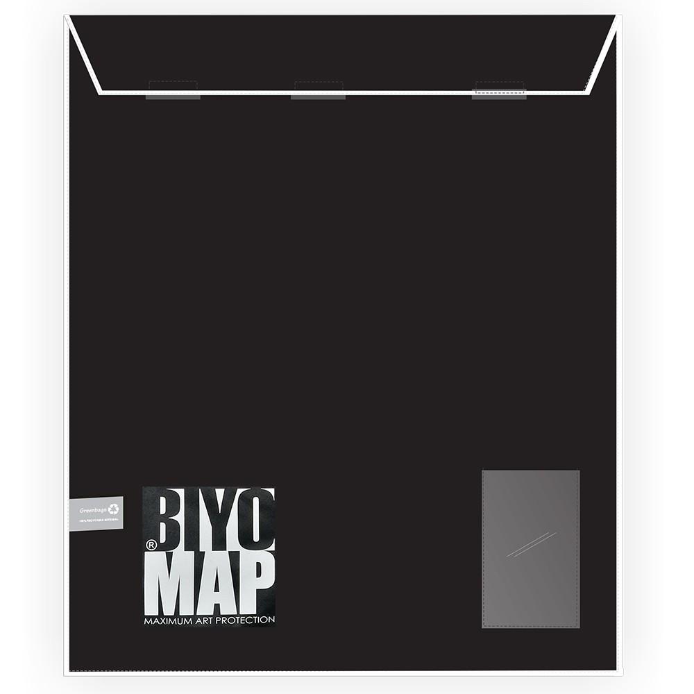 Biyomap : Reusable Artwork Shipping and Storage Bag : 110x130cm (White)
