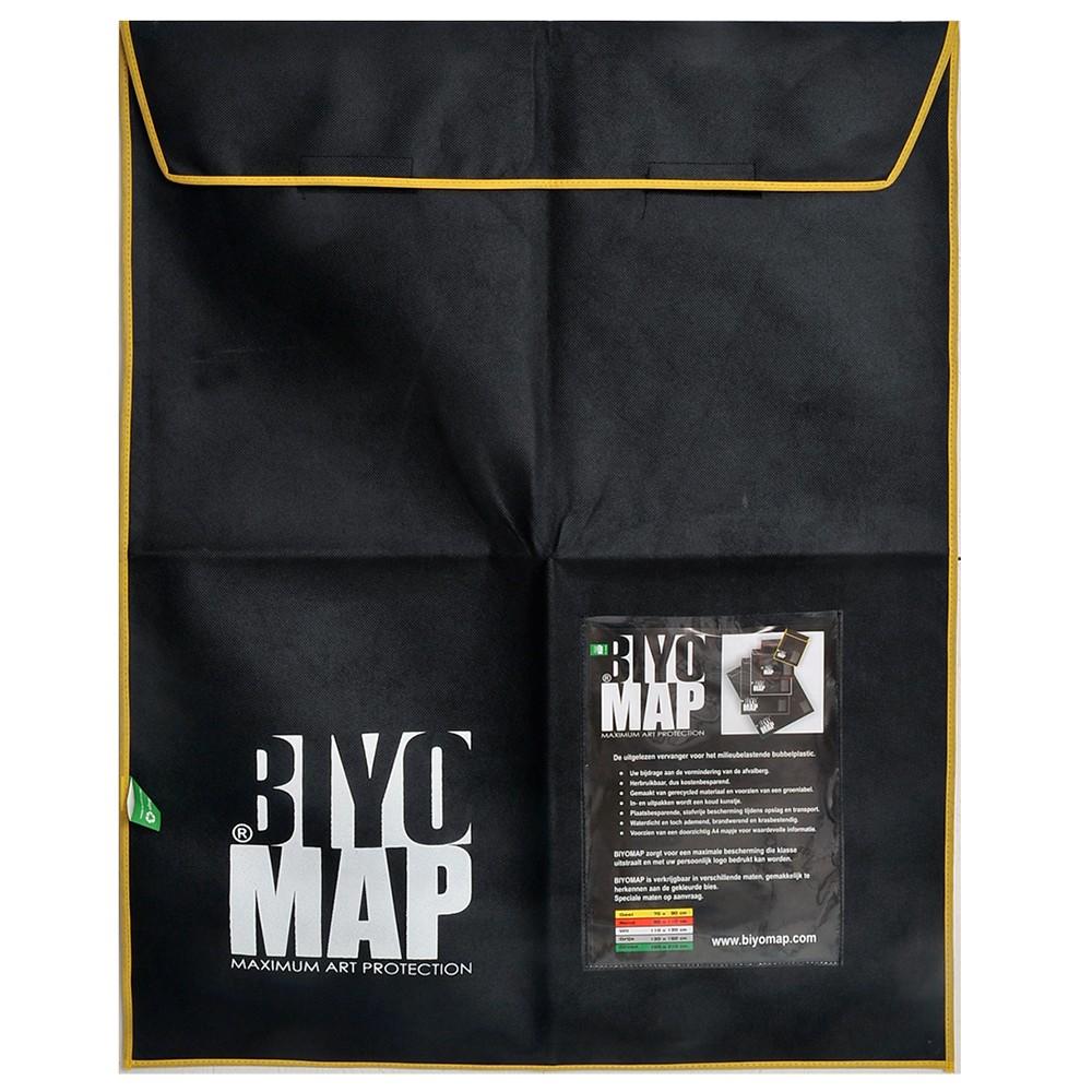 Biyomap : Reusable Artwork Shipping and Storage Bag : 70x90cm (Yellow)