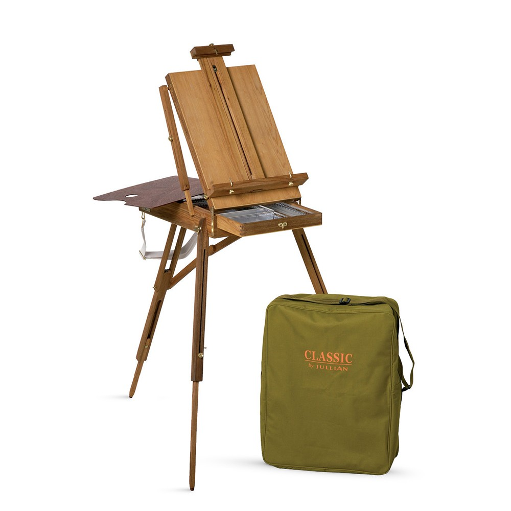 Jullian : Full Classic French Easel : Beechwood : With Carrying Bag