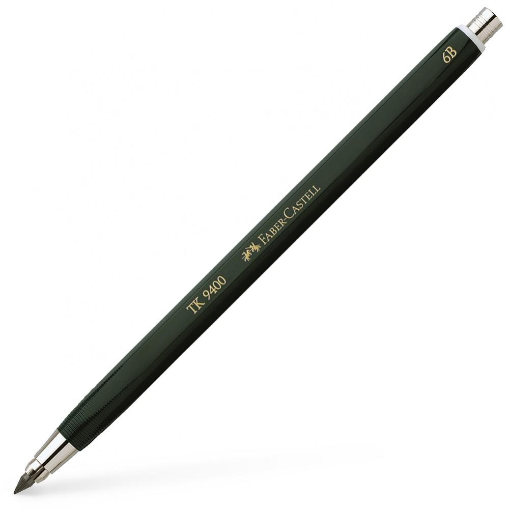 Faber Castell : TK9400 Clutch Pencil : 6B : 3.15mm