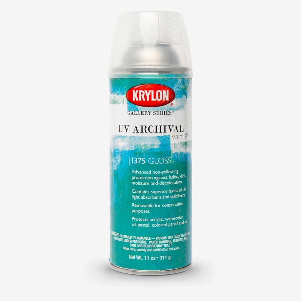 Krylon : UV Archival Varnish : 11oz : Gloss