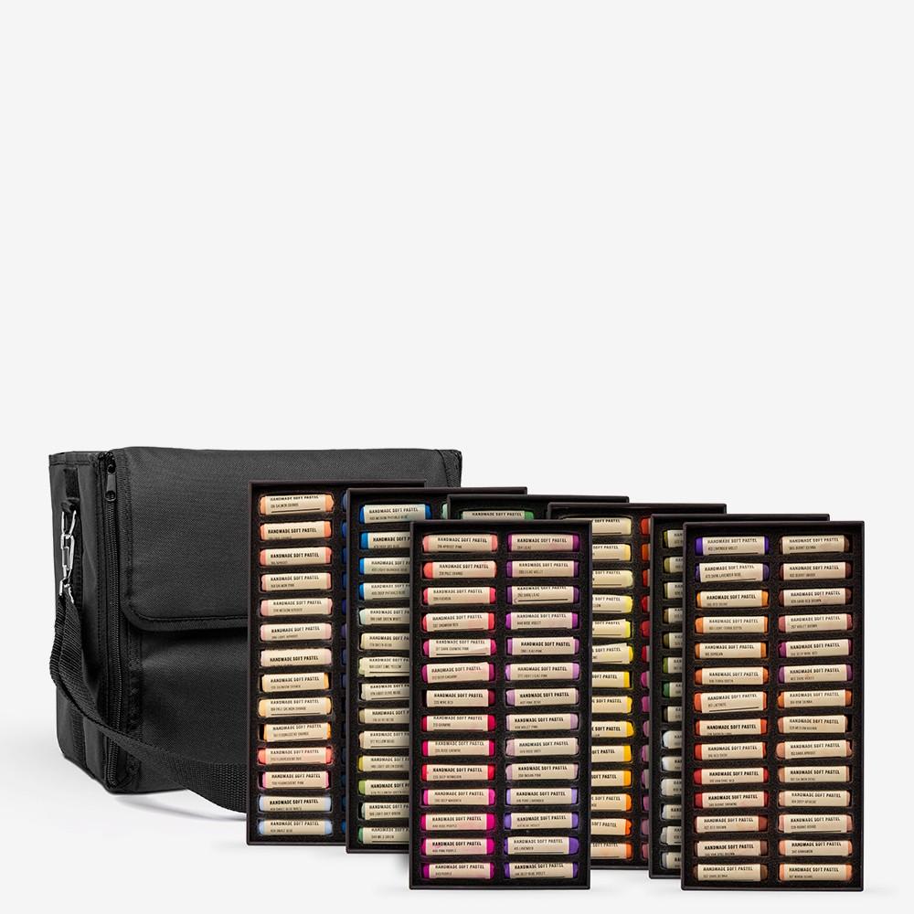 Jackson's : Handmade Soft Pastel : 196 Colours : Plus Storage Case