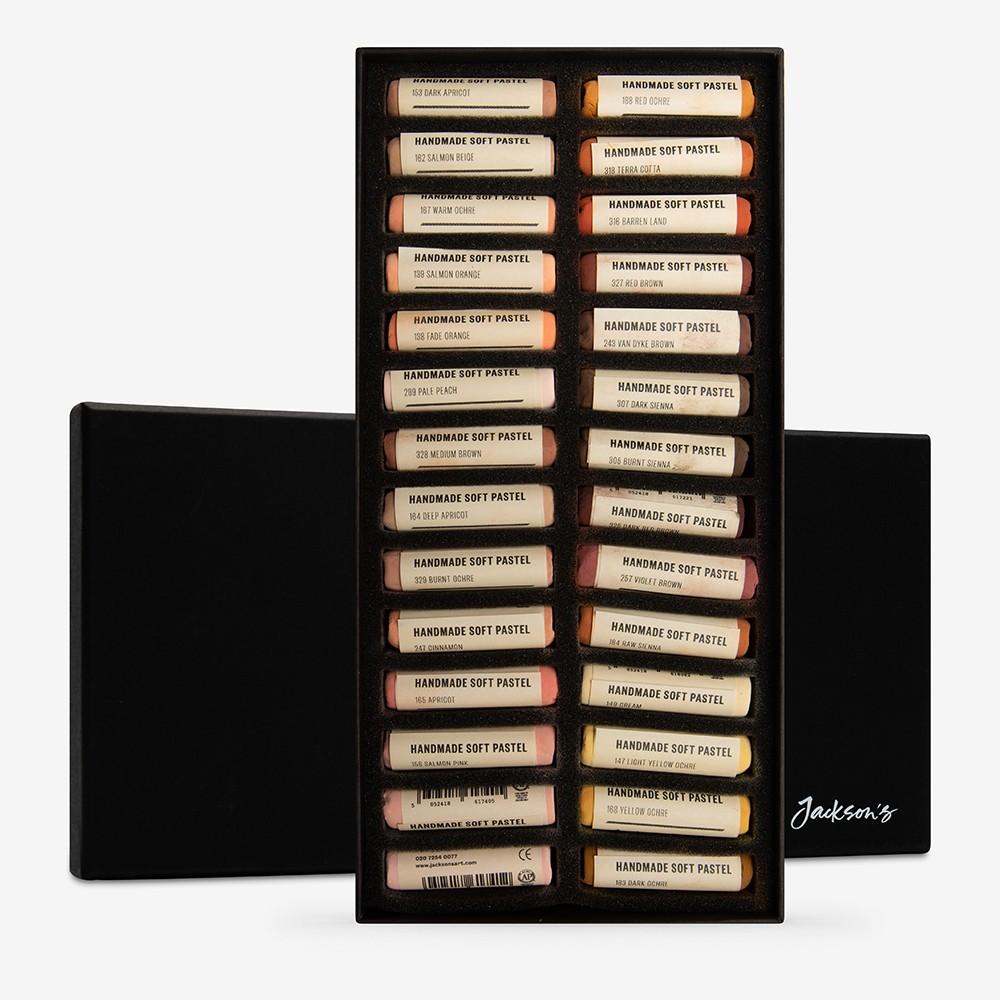 Jackson's : Handmade Soft Pastel : 28 Colours : Portrait Set