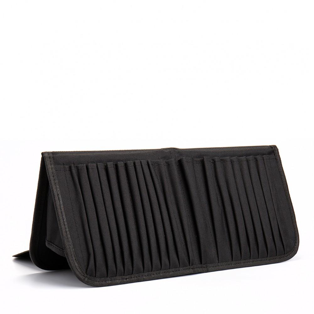 Mapac : Brush Easel Case 21 brush pockets : Velcro closure : 40x38cm when open
