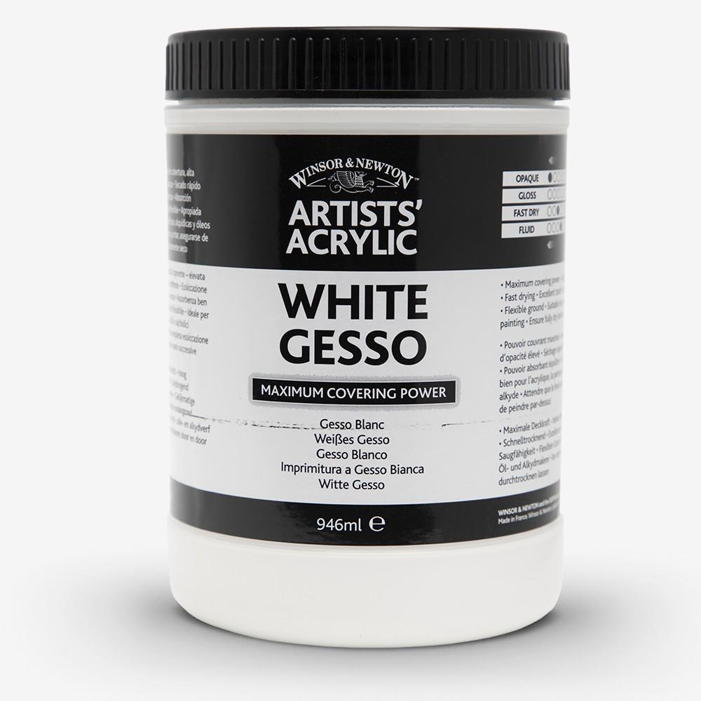 Winsor & Newton weiß Acryl-Gesso 946ml