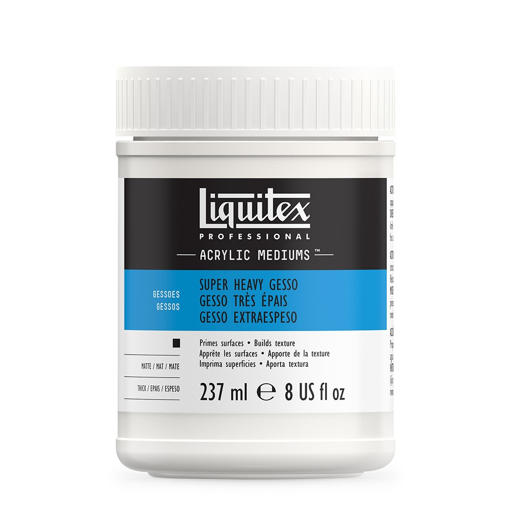 Liquitex Super Heavy Gesso 237ml Glas