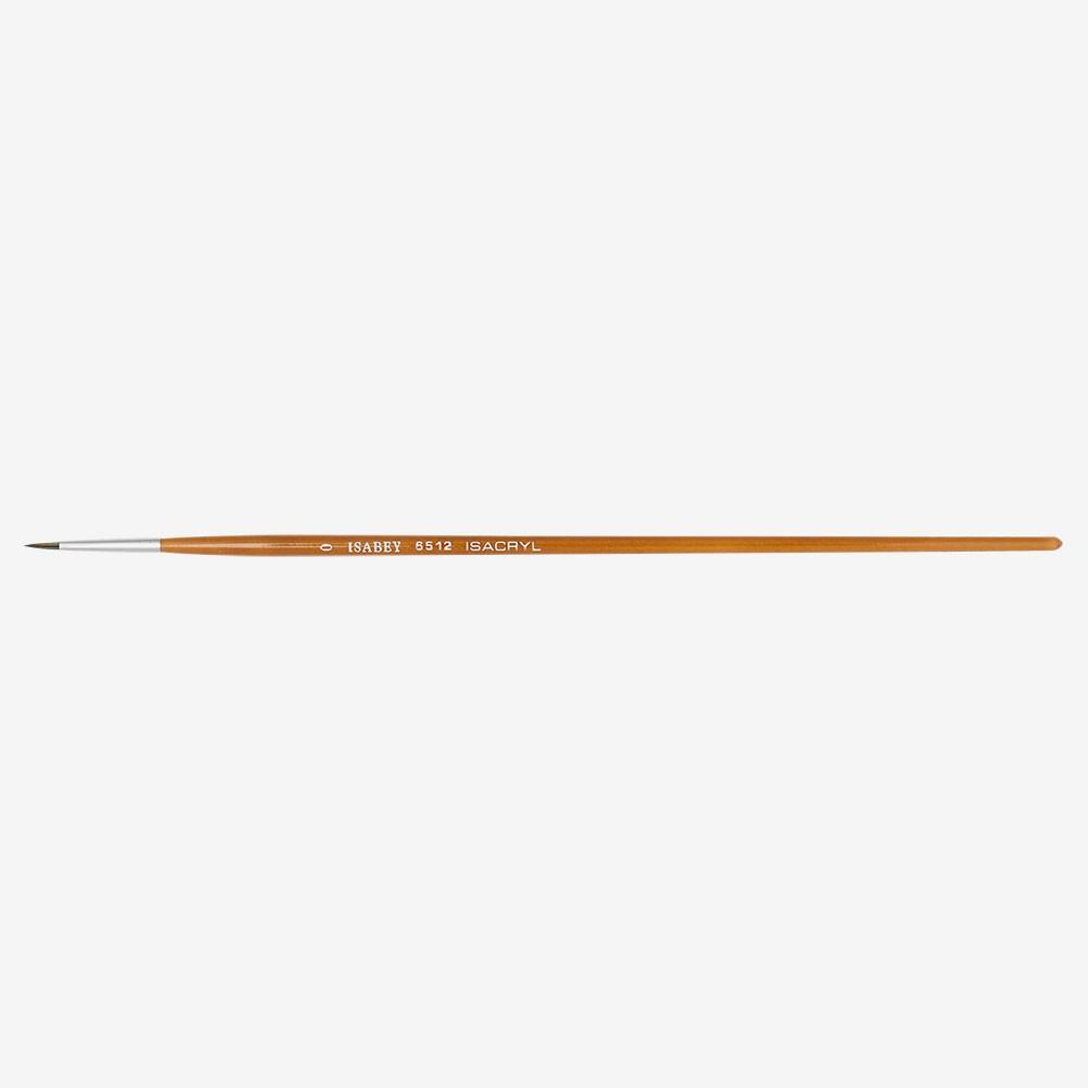 Isabey: Isacryl: Runde Serie: 6512 Größe 0