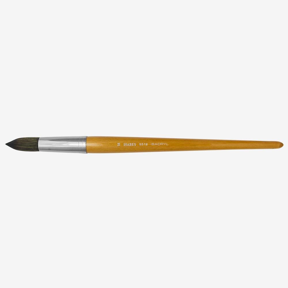 Isabey: Isacryl: Runde Serie: 6512 Größe 18