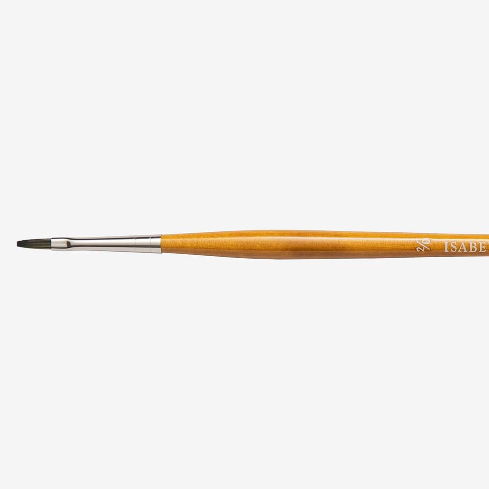 Isabey : Isacryl : Long Flat Series : 6582 Size 2/0