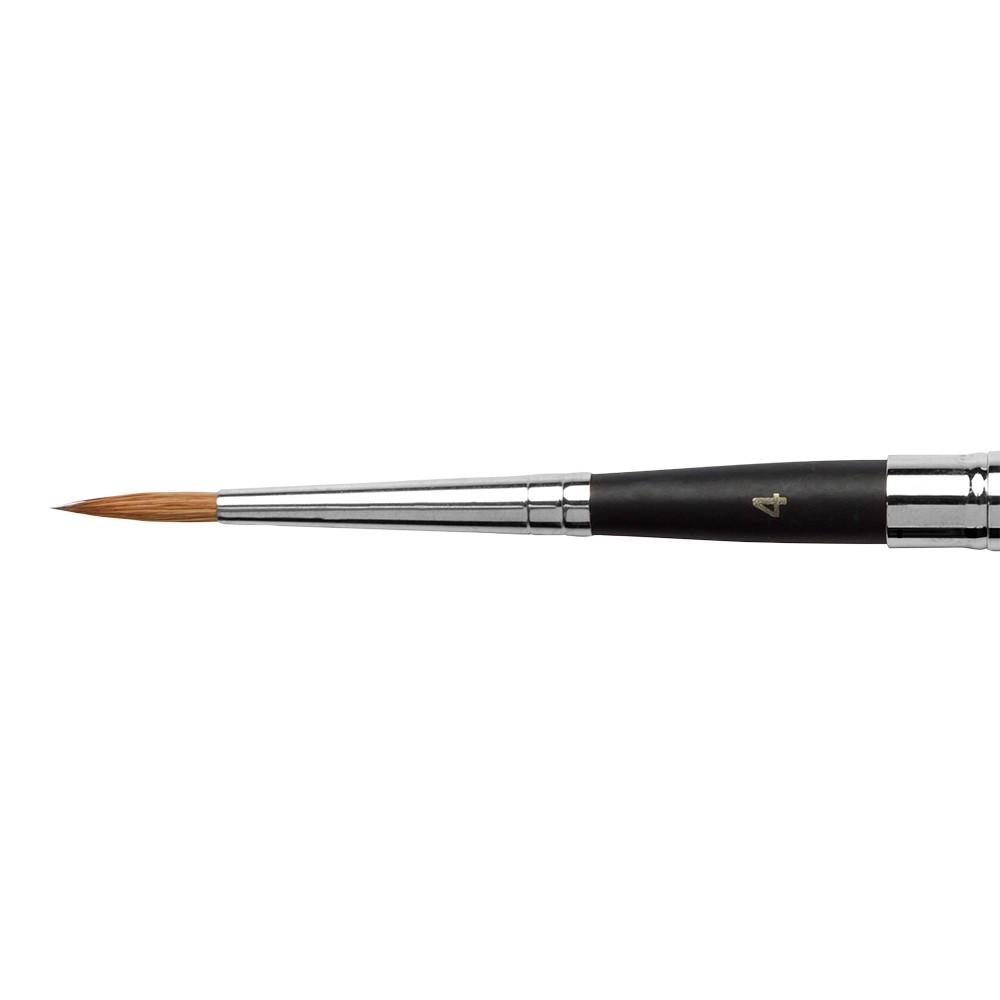 Jacksons Pinsel: Sable einziehbare Größe 4