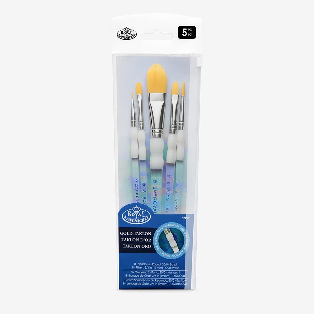 Royal & Langnickel : Soft Grip Starter Brush Set