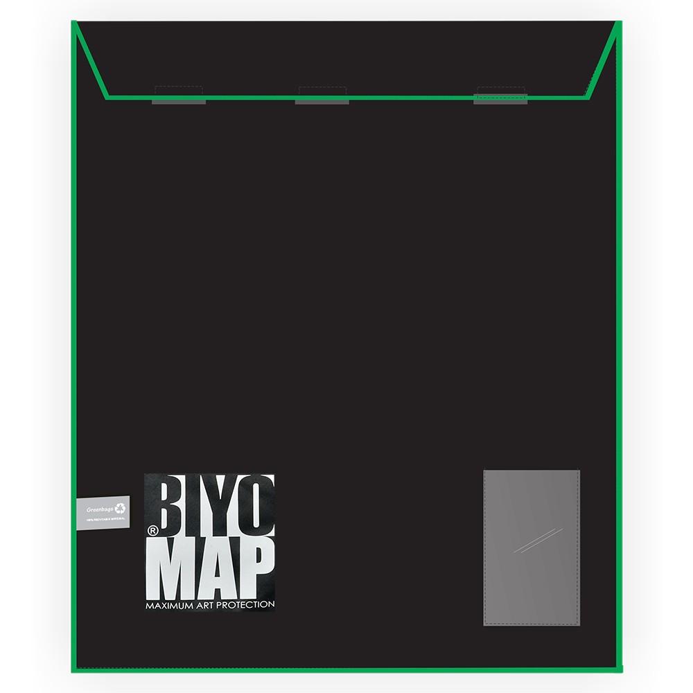 Biyomap : Reusable Artwork Shipping and Storage Bag : 160x210cm (Green)