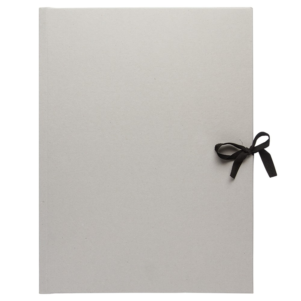 Studio Essentials : Grey Card Presentation Folio : With Ties : A3