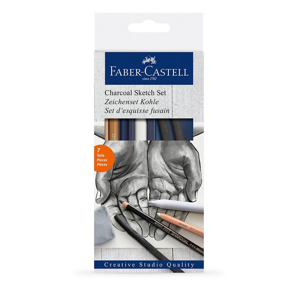 Faber Castell : Charcoal Sketch Set