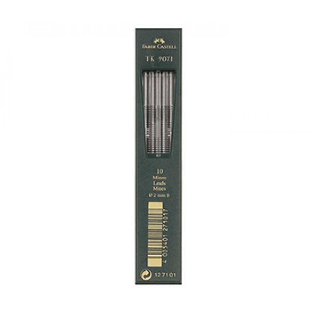 Faber Castell: 10 führt 2mm: HB für Kupplung Bleistift