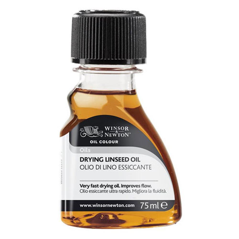 Winsor & Newton : Artist Drying Linseed Oil : 75ml