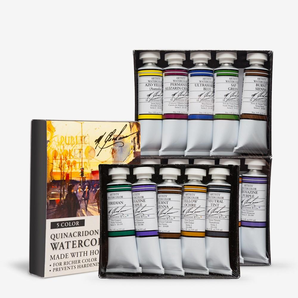 M. Graham : Artists' Watercolour Paint Sets