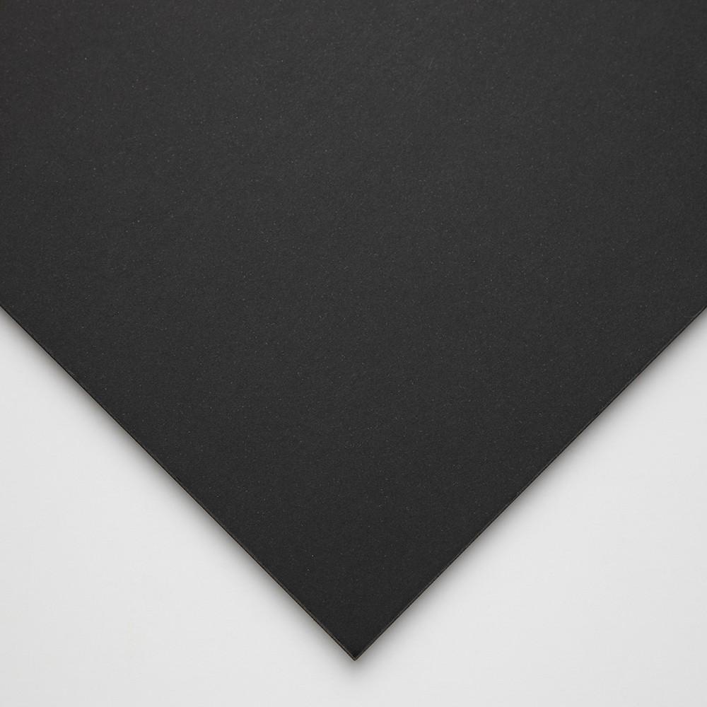 Halbmond Art Schaumstoff-Board: schwarzem Kern und Black Paper Liner: 5mm: A1